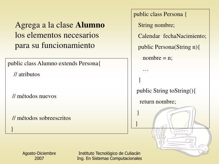public class Persona {