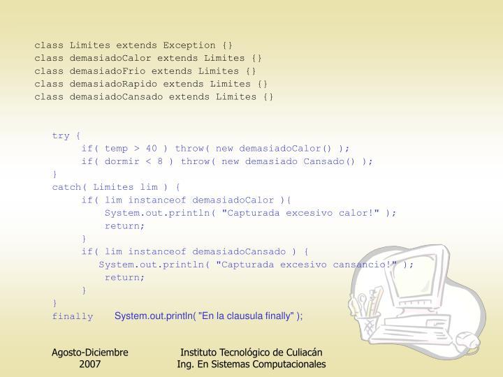 class Limites extends Exception {}