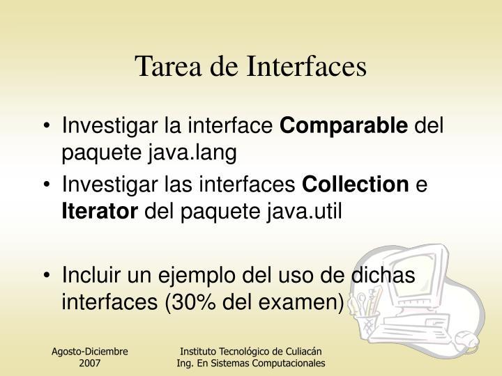 Tarea de Interfaces