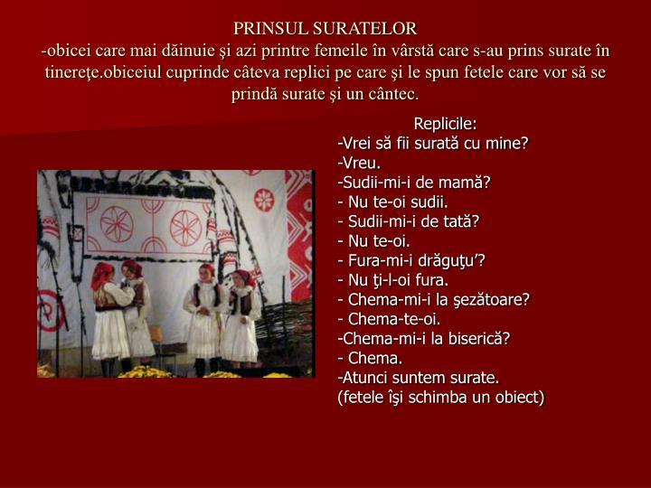 PRINSUL SURATELOR