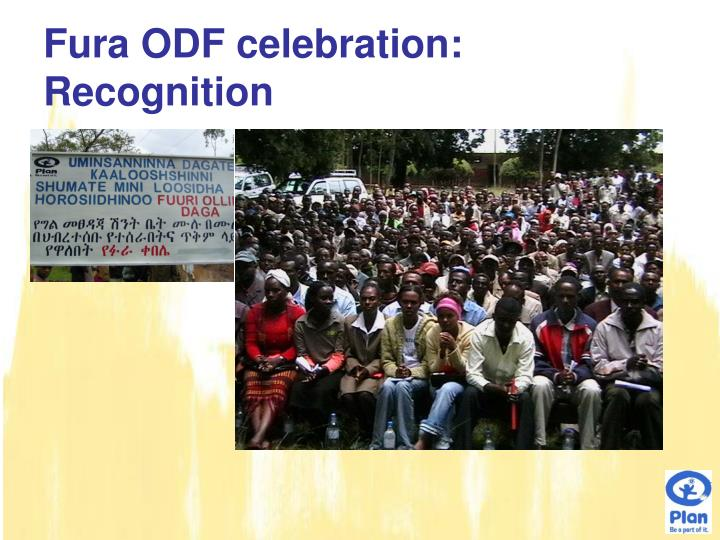 Fura ODF celebration: Recognition