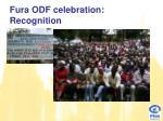 fura odf celebration recognition