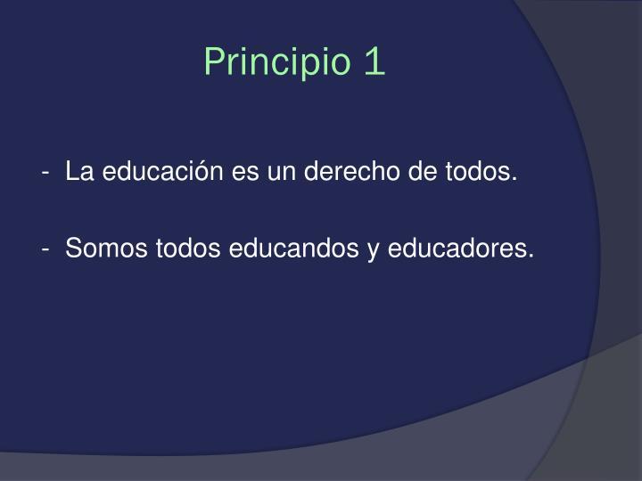 Principio 1
