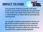 impact to fusd3