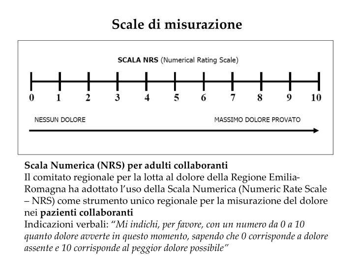 Scale di misurazione