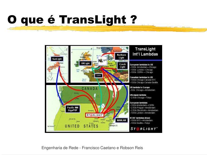 O que é TransLight ?