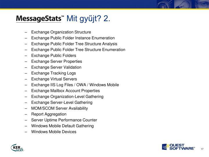 Exchange Organization Structure