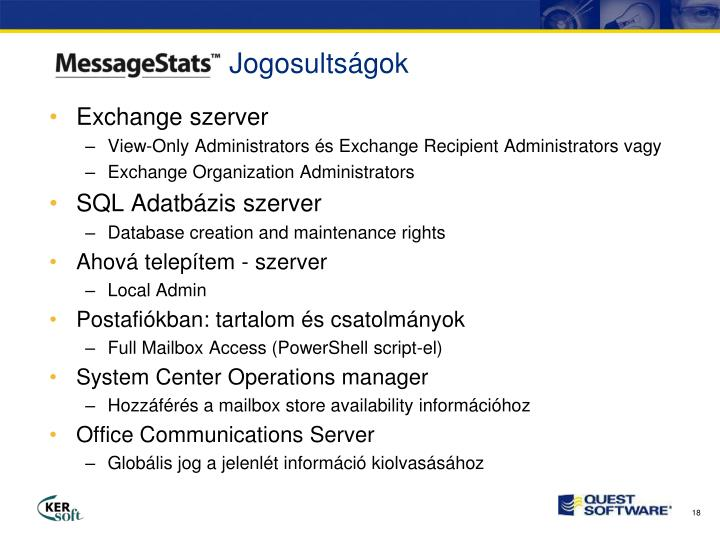 Exchange szerver