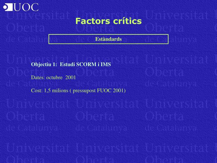 Factors crítics