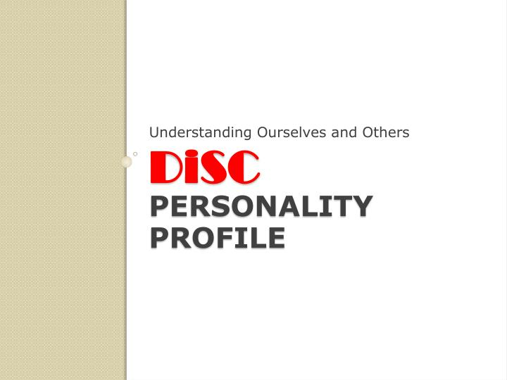 how to create a personal profile presentation