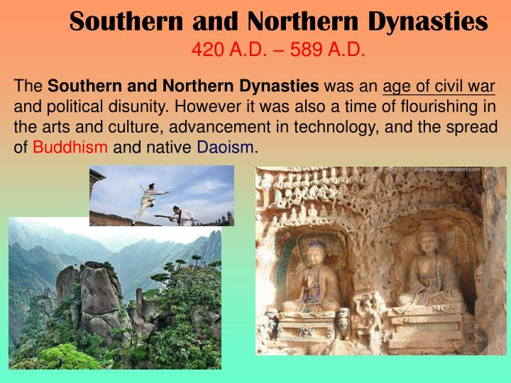 Southern and Northern Dynasties