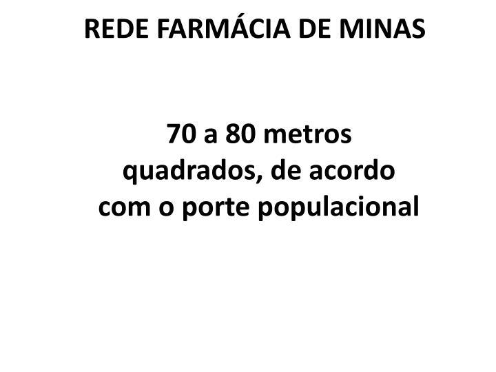 REDE FARMCIA DE MINAS