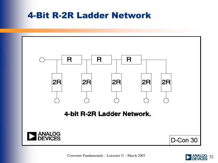 4-Bit R-2R Ladder Network