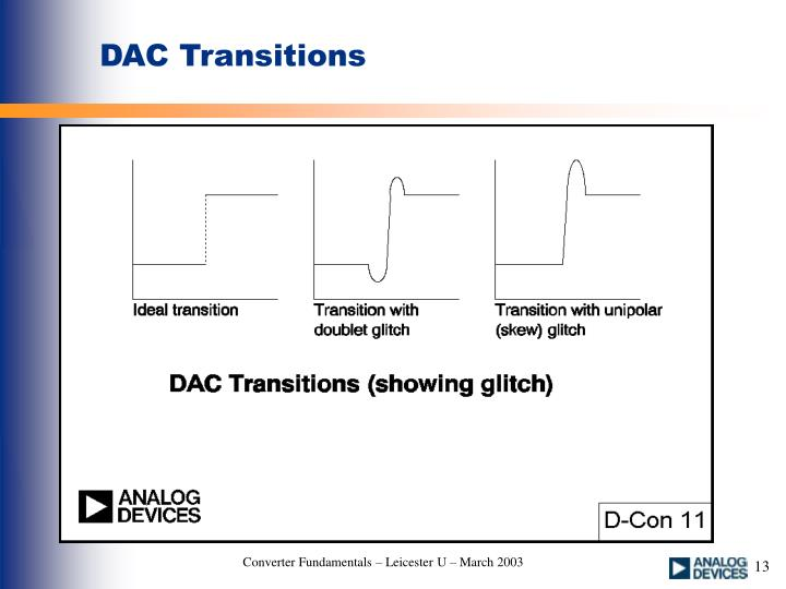 DAC Transitions