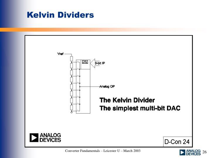 Kelvin Dividers