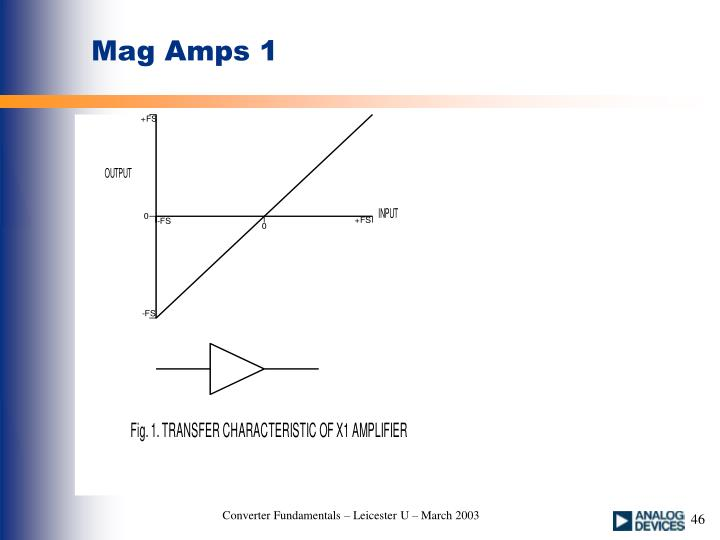 Mag Amps 1