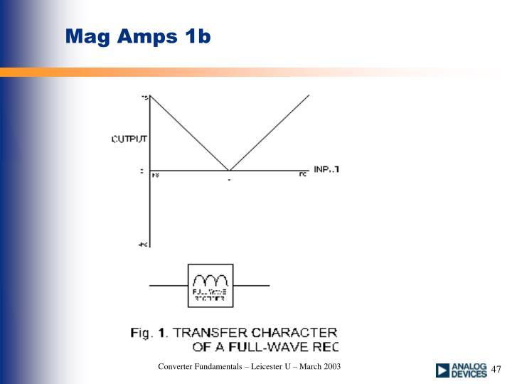 Mag Amps 1b