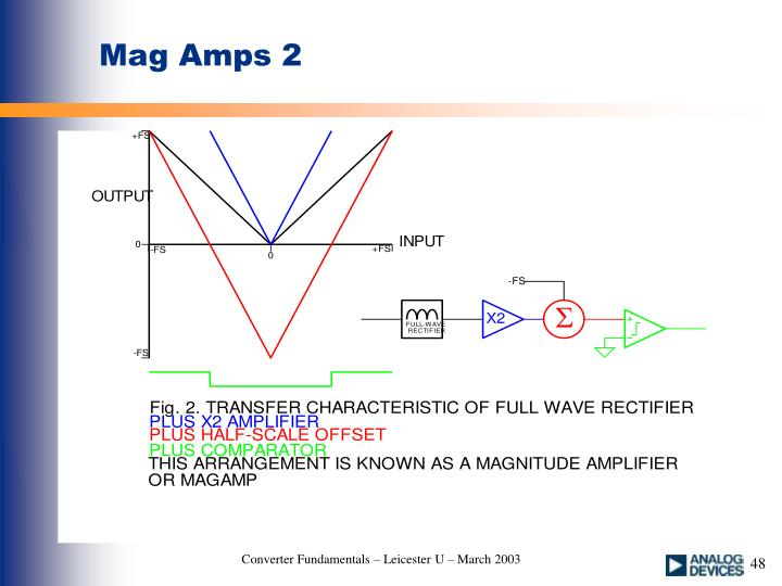 Mag Amps 2