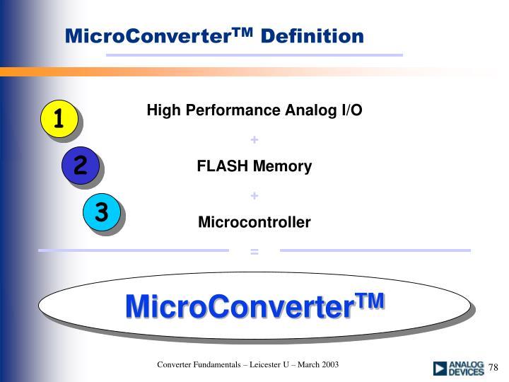 MicroConverter