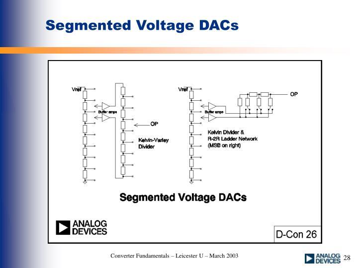 Segmented Voltage DACs