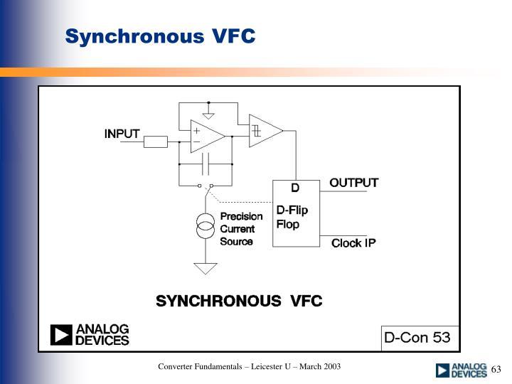 Synchronous VFC