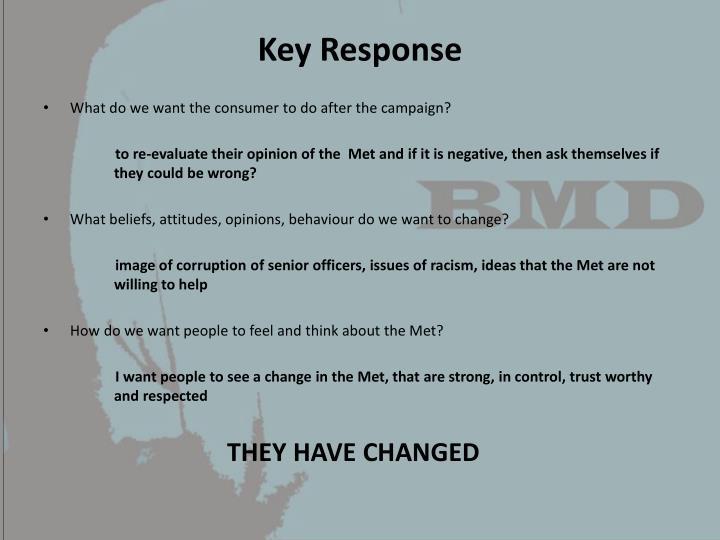 Key Response
