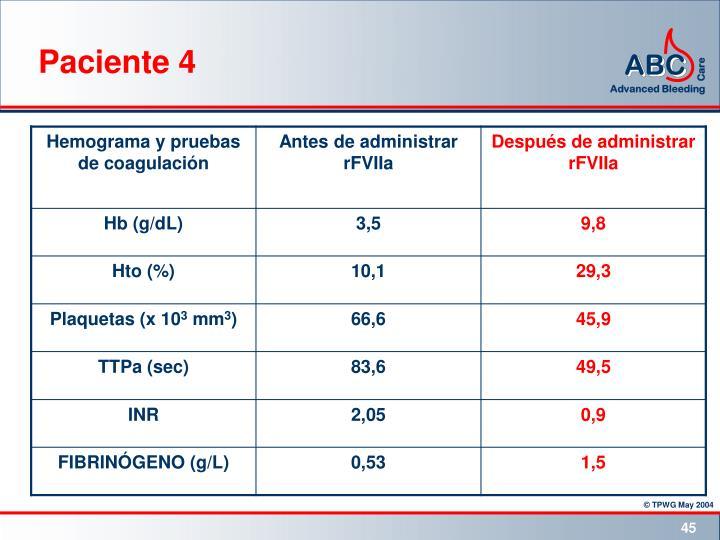 Paciente 4