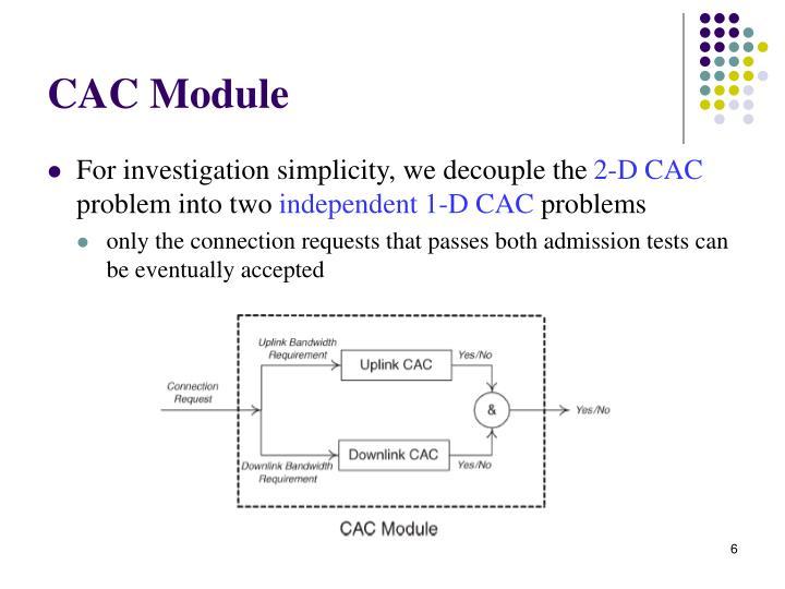 CAC Module
