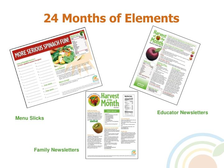 24 Months of Elements