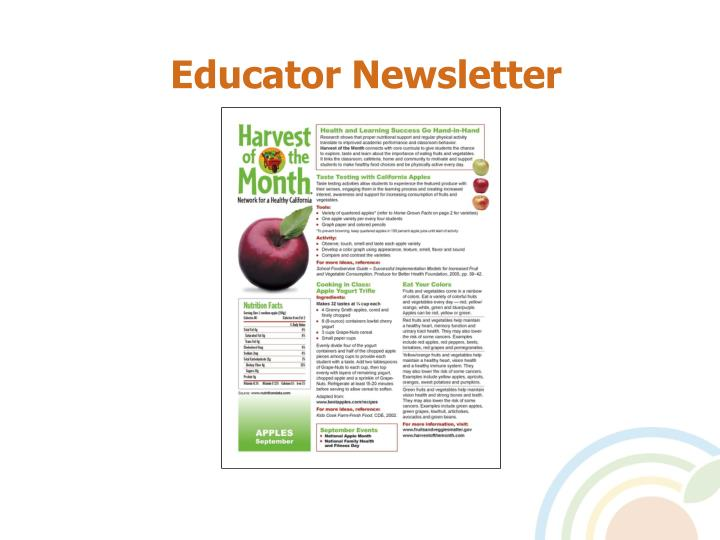 Educator Newsletter