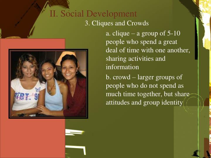 II. Social Development