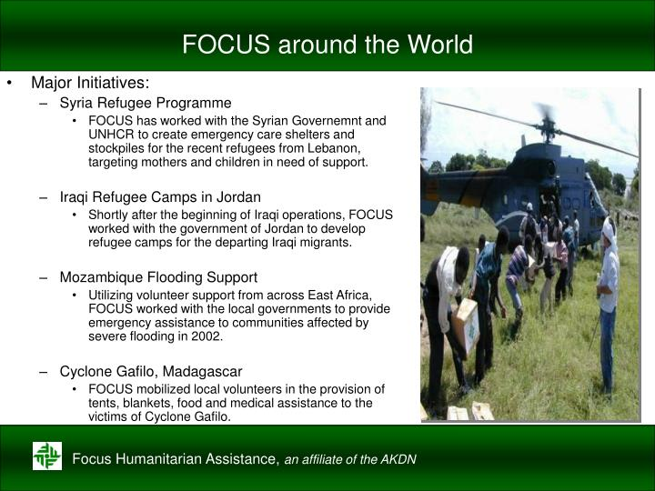 FOCUS around the World