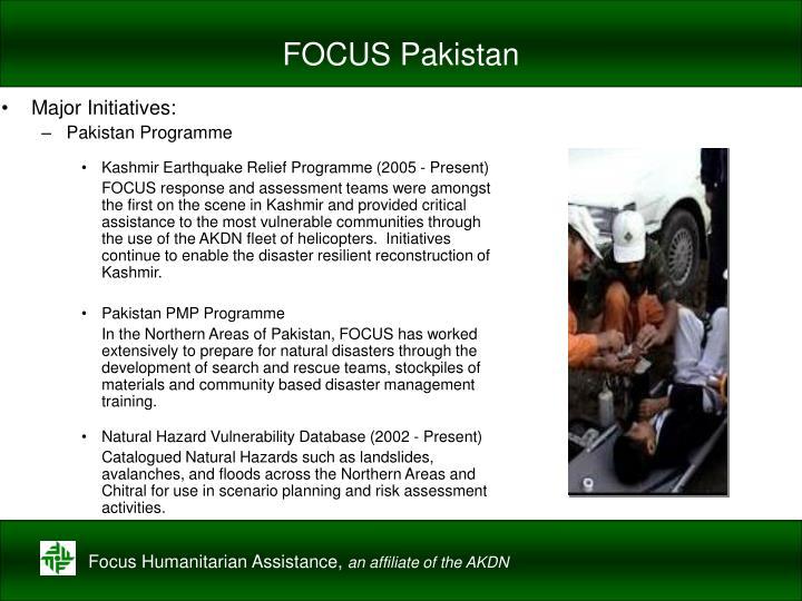 FOCUS Pakistan