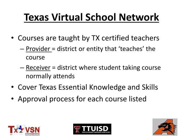 Texas Virtual School Network
