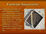 footwear impressions