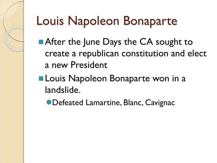 Louis Napoleon Bonaparte