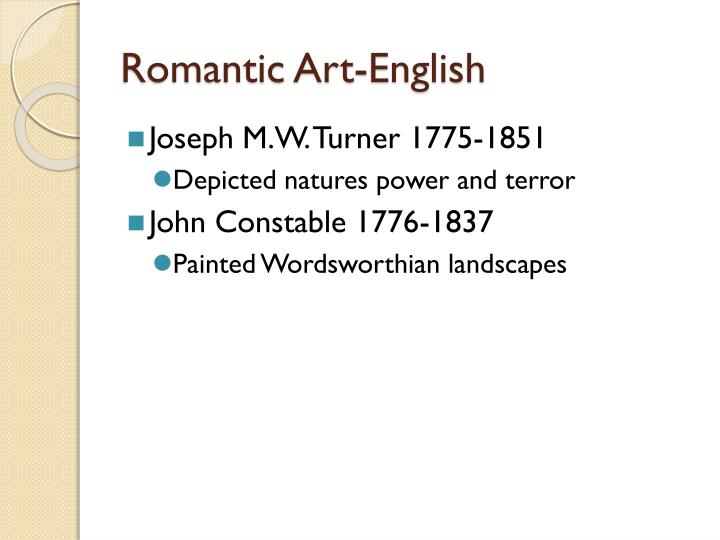Romantic Art-English