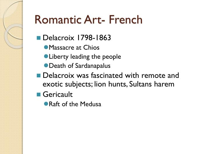 Romantic Art- French