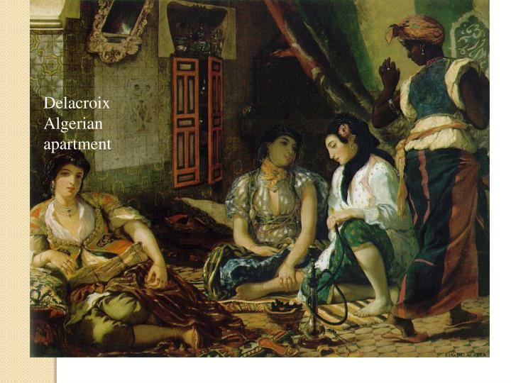 Delacroix  Algerian apartment