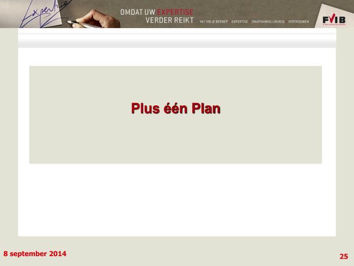 Plus één Plan