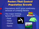 factors that control population growth2