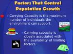factors that control population growth3
