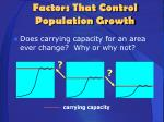 factors that control population growth4