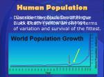 human population4
