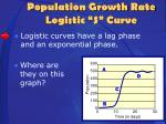 population growth rate logistic s curve1