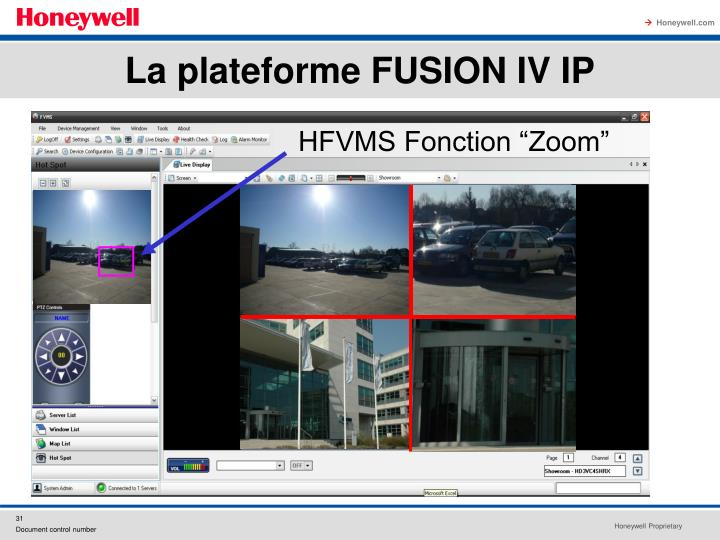 "HFVMS Fonction ""Zoom"""