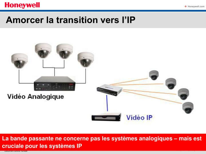 Amorcer la transition vers l'IP