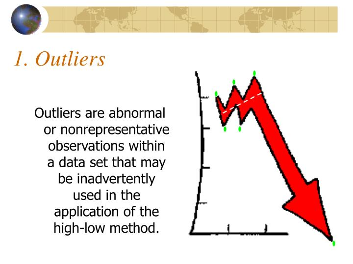 1. Outliers