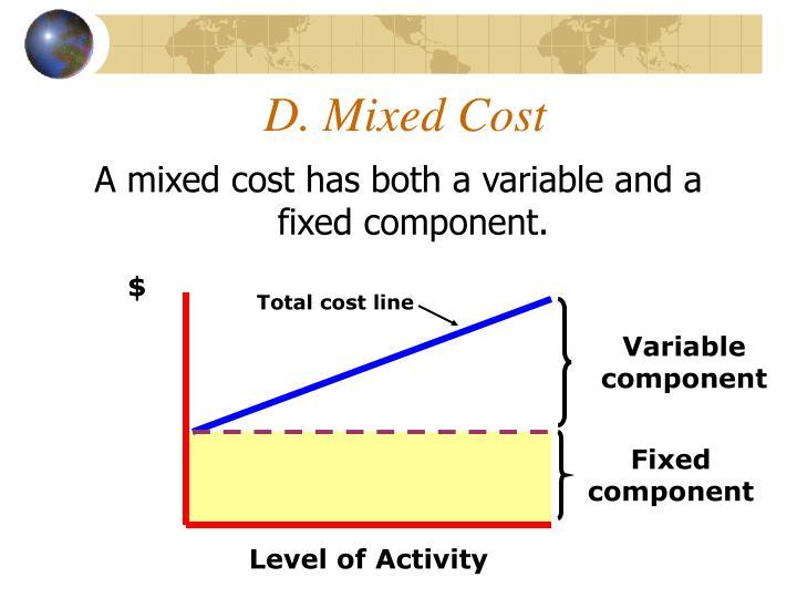 D. Mixed Cost