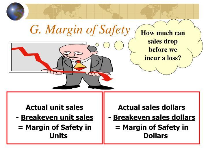 Actual sales dollars